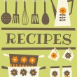 Recipe Card — Wektor stockowy #12655434