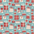 Christmas Gifts Background — Stock vektor