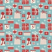 Christmas Gifts Background — Stock Vector