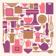 Kitchen Items Collection — ストックベクター #14370859