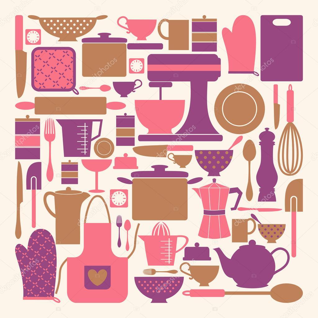 Itens Decoracao De Cozinha Beyato Com V Rios Desenhos Sobre  ~ Itens Essenciais Para Cozinha