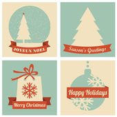 Christmas Cards Collection — Stock Photo