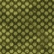 Seamles Grungy Pattern with Clovers — Imagen vectorial