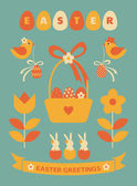 Easter Design Elements — Stock Vector