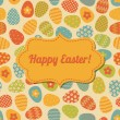 Royalty-Free Stock Imagem Vetorial: Easter Greeting Card Design