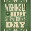 St. Patrick's Day Card — Stock Vector #21485327
