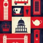 Retro London Poster — Stock Vector #21485913