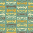 Stock Vector: Seamless Sunglasses Pattern