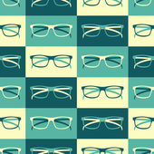 Retro Glasses Background — Stock Vector