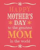 Dzień matki karty — Wektor stockowy