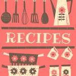 Постер, плакат: Vintage Recipe Card
