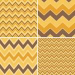 Seamless Chevron Patterns Collection — Stock Vector #24821931