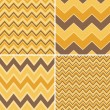 Seamless Chevron Patterns Collection — Stock Vector #24821931