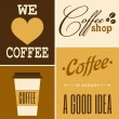 Royalty-Free Stock Imagen vectorial: Retro Coffee Collection