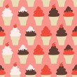 Ice Cream Background — Stok Vektör