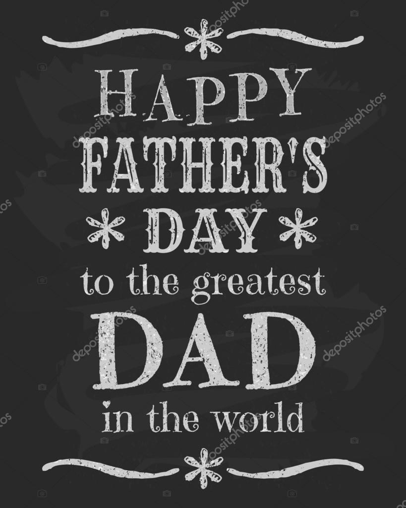 fathers day chalkboard design stock vector 169 ivaleks 24824671