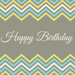 Birthday Greeting Card — Stock Vector #25610491