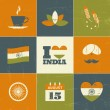 India Independence Day Collection — Grafika wektorowa
