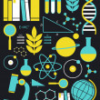 Education And Science Icon Set — Stock Vector