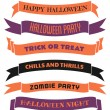 Halloween Banners Set — Stock Vector #29362649