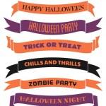 Halloween Banners Set — Stock Vector #29362649