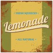 Lemonade Metal Sign — Stockvektor