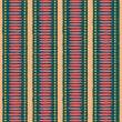 Seamless Ethnic Pattern — Vettoriali Stock