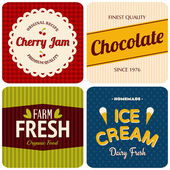 Retro Designs Collection — Vector de stock