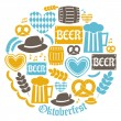 Oktoberfest Icons Collection — Stock Vector #31462029