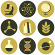 Stock Vector: Science Icons Collection