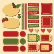 Christmas Design Elements — Stock Vector #35014021