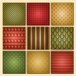 Christmas Backgrounds Collection — Vector de stock