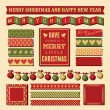 Christmas Design Elements — Vector de stock #35095125