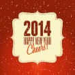 Happy New 2014 — Vector de stock