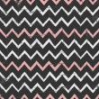 Stock Vector: Chalkboard Chevron Pattern
