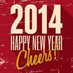 Happy New 2014 — Stock Vector #35872227