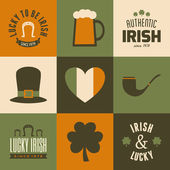 St. Patrick's  Cards — Stock Vector