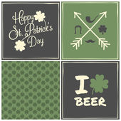 St. Patrick's  Pattern — Stock Vector