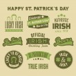 St. Patrick's Day Design Elements Collection — Stock Vector #42454373