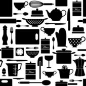 Sfondo di cucina — Vettoriale Stock