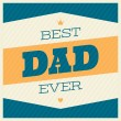Father's Day Greeting Card — Stock Vector #47246283