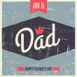 Father's Day Greeting Card — Stock Vector #47260613