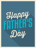 Father's Day Greeting Card — Vettoriale Stock