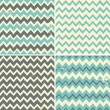 Seamless Chevron Backgrounds Collection — Stock Vector #49010927