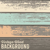 Vintage wood Background — Stock Vector