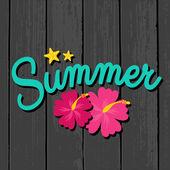 Summer Sales Design — Stock Vector