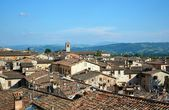 Rooftops of ancient Gubbio, Umbria, Italy — Stock Photo