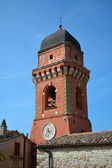 Church tower Frontone, Marche, Italy — Stock Photo