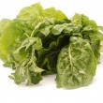 Fresh spinach on white — Stock Photo #46637683
