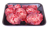Ostrich neck meat — Stock Photo